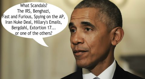 "Obama Crony Claims ""No Scandals"" in Obama Era!"