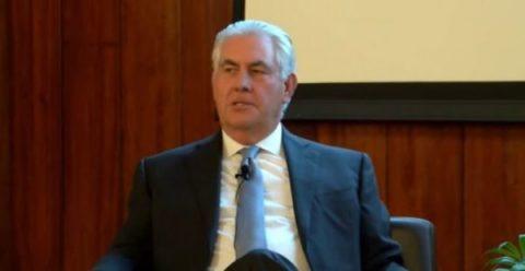Rex Tillerson: Falling Apart Under Conservative Pressure?