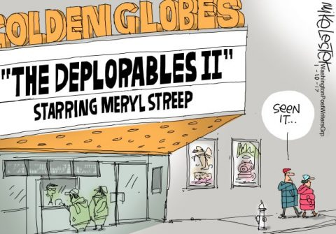 "The ""Elite"" Meryl Streep is Disgusted With Us ""Little Deplorables"""
