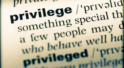 White Privilege Is Slavery's Fourth Estate: Not a Catastrophe