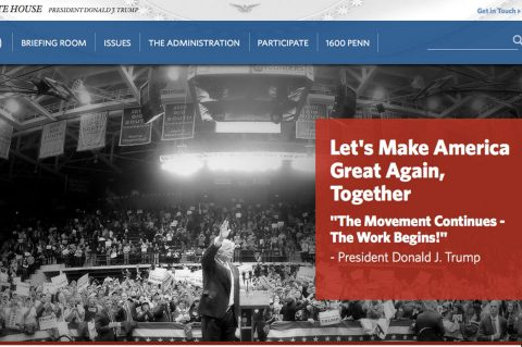 What Happened to Obama's White House Website? Scrubbed of Liberal Lies on Day One!
