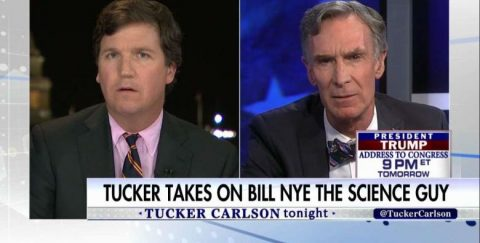 "Tucker Carlson Teaches ""The Science Guy"" About Climate Change"