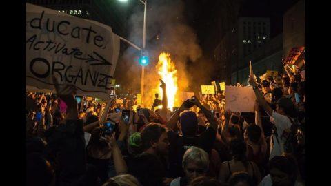 Rioters bring Shame to Berkeley's 60's Demonstrators
