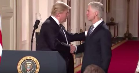 Gorsuch For The Court is a Win for Fly-Over America
