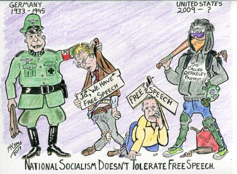 National Socialism and Free Speech