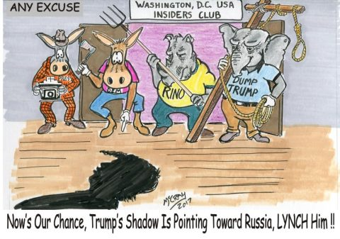 Washington Insiders and Establishment want to Lynch Trump