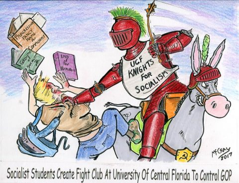 "Liberal ""Fight Club"" Teaches University of Central Florida Students to Fight Republicans"