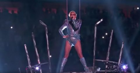 Lady Gaga's Latest Shocking Performance: Just Performing