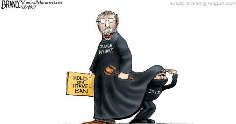 Unelected, Black Robed, So-Called Judges to Rule the World!