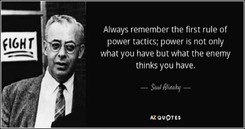Alinsky Tactics and How to Defeat Them