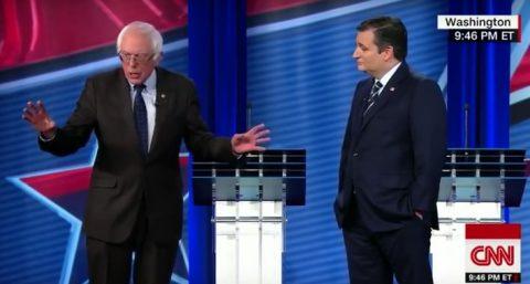 Sanders v Cruz – A Debate for the Ages