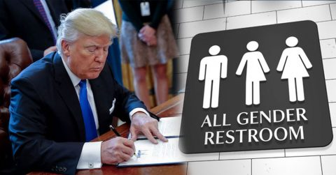 Trump's Reversal of Obama's Transgender Decree Makes True Americans Cheer