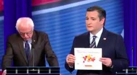 Cruzing and Burning Bernie