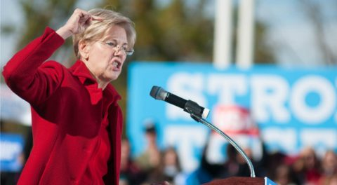 Trump Gives His Power To Pocohontas