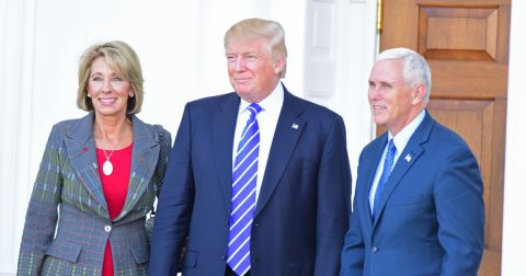 Breaking News! Vice President Breaks Senate Tie to Confirm Betsy DeVos as Secretary of Education!