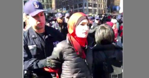 Anti-Semitic Muslim Women's March Leader Arrested in NYC!