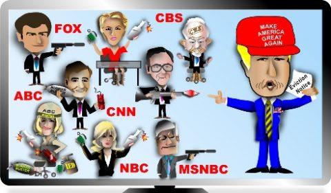 Lying Democrat Mainstream Media gets Trumped again!