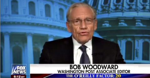 "Watergate Icon Bob Woodward Praises Trump as a ""Pragmatist"""
