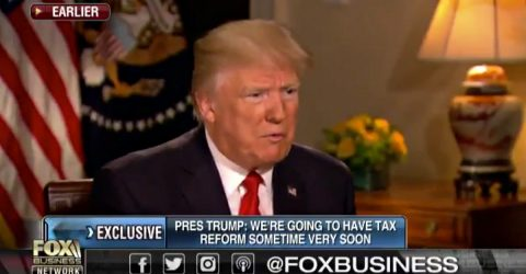 President Trump hasn't Given Up on Healthcare Reform, says it Will Lead to Tax Reform