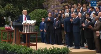 Donald Trump and the New England Patriots
