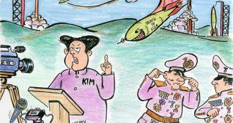 EDtoon KIM Fires Nukes Apr 14
