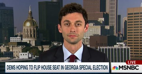 Democrat Carpetbagger Running in Georgia Can't Even Vote for Himself!