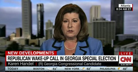 GOP Candidate in Georgia's 6th District Hits the Ground Running and is Already Hammering her Democrat Opponent