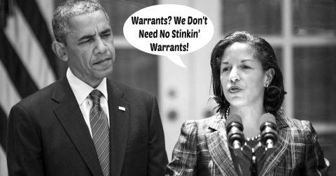 Busted! Trump Calls Susan Rice a Liar!