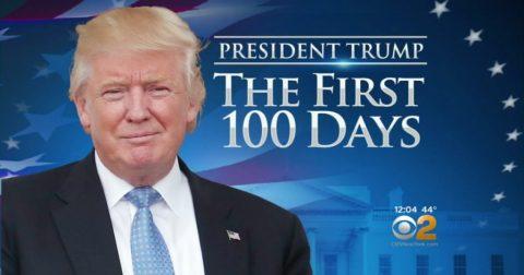 Trump's America: 100 Days of Genius