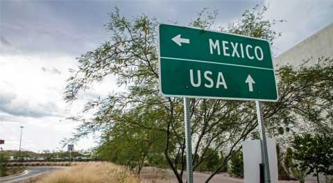 """Mexico Calls Building the Wall Along the U.S. Border to be a """"Violation of Human Rights of Mexicans"""""""