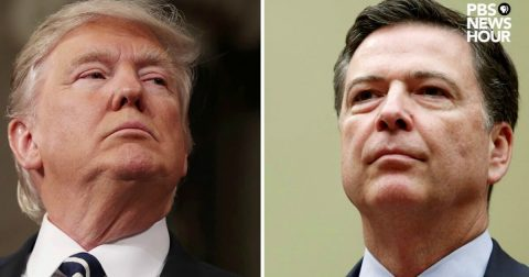 Mr. Milbank's article re: Comey vs. Trump was a BIG swing and a Miss…