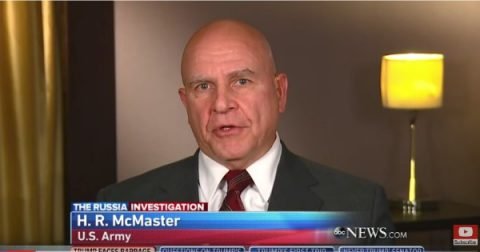 H.R. McMaster Places America In Harm's Way