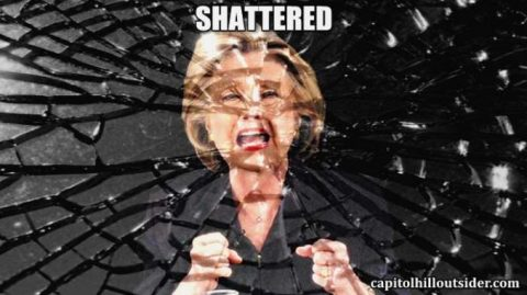 "Crying Over ""Shattered"" Hillary"