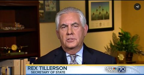 Secretary of State Tillerson Goes Toe-to-Toe with RINO McCain