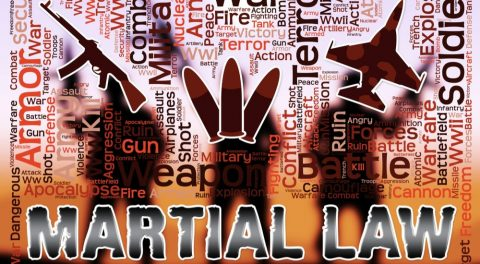UFOs and Martial Law!
