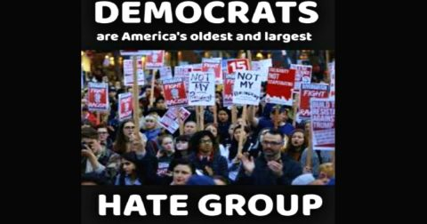 Shame on Democrats and their Psychology of Hate