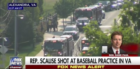 Gunman Fires on GOP Congressional Softball Team Practice Wounds 5 UPDATE: Shooter Dead