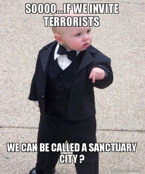 """""""Sanctuary"""" Cities Meme"""