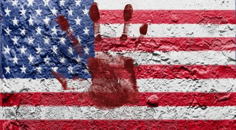 GOP Blood Flows On Patriotic Day