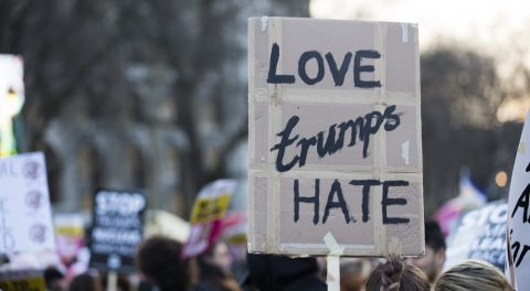 From Contradiction to Reprobation – NY Anti-hate Protesters Resolve to Hate Trump