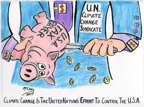 Climate Change is All about the MONEY