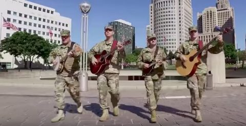 Six String Soldiers Play for Patriotism and for our Veterans