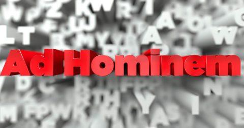Death of Argumentum ad Hominem