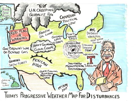 Liberal Weather Map