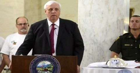 Watch as West Virginia's Governor Switches from Democrat Party to Republican… at a Trump Rally!