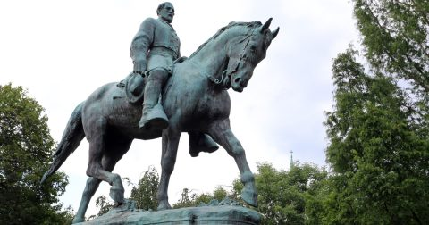 Democrats Destroying Monuments to Democrat War Heroes!
