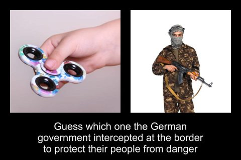 Guess which one Germany Intercepted at the Border?