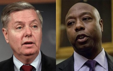 Sen. Lindsey Graham (R-S.C.), And Sen. Tim Scott (R-S.C.) Inform President Of Their Dismay