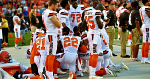 NFL Protests are pushing propagandized lies, NOT an expression of 1st Amendment rights