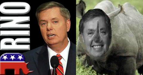 Lindsey Graham: Ruinous RINO